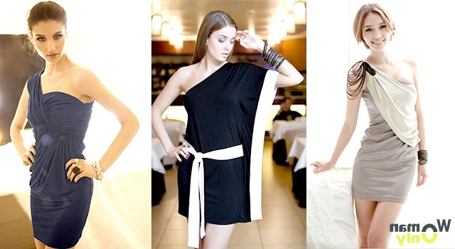 Асиметричні сукні - кому вони йдуть?