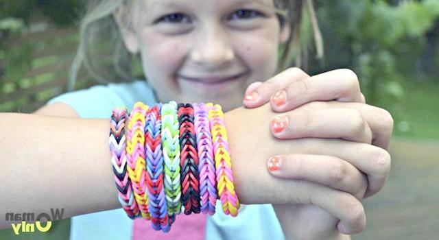 Браслети з гумок: майстер-клас з плетіння будинку