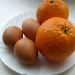 Дієта апельсин і яйце