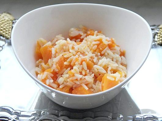 Рисова каша з гарбузом.