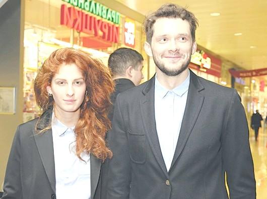 Підтримати Григорія Добригіна прийшов не тільки його тато, але і дівчина - Муся Тотібадзе.