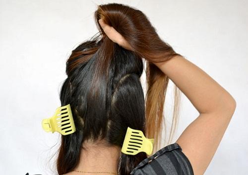 поділяємо волосся фото
