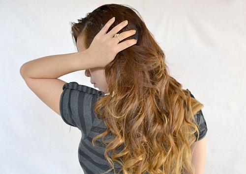 завиті волосся фото