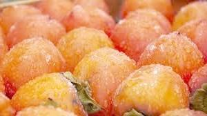 Як заморозити персики?