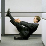 «Офісний» фітнес: худнемо на робочому місці