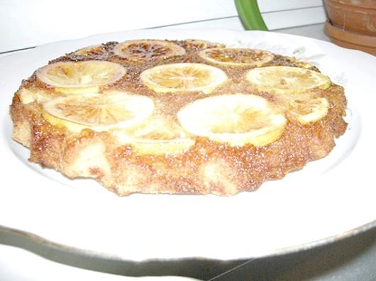 Перевернутий лимонний пиріг