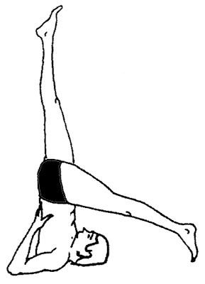 Пози йоги для початківців