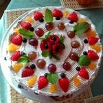 Святковий легкий тортик