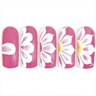 Малюнки на нігтях акриловими фарбами