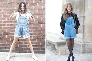 З чим носити джинсовий комбінезон?