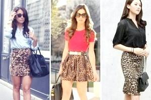 З чим носити леопардову спідницю?