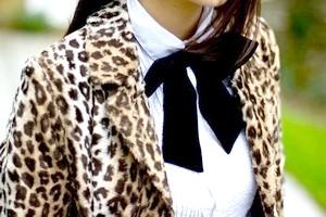 З чим носити леопардовий піджак?