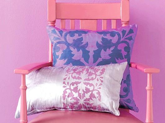 Зроби сам: декоративний принт на подушці