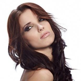 Стрижки на довге волосся без чубчика