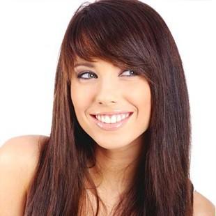 Стрижки на довге волосся для овального обличчя