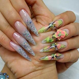 Технологія нарощування нігтів акрилом