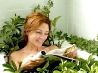 Трав'яні ванни для схуднення