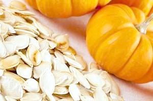 Гарбузове насіння при грудному вигодовуванні