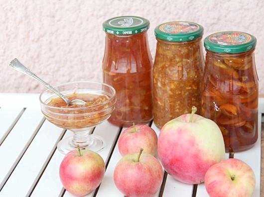 Варення з яблук з лимонами і апельсинами