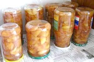 Варення з літніх сортів груш