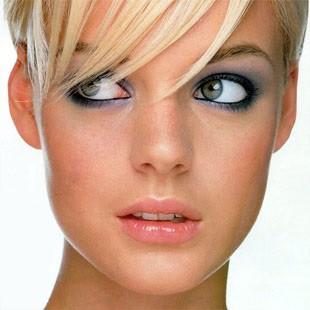 Вечірній макіяж для блондинок