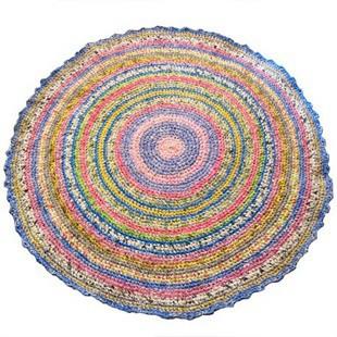 В'язання килимків гачком