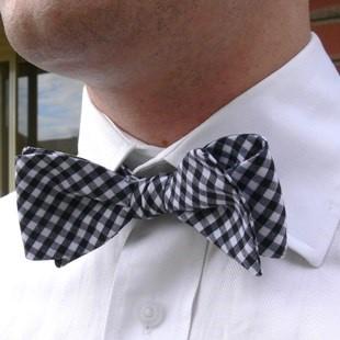 Викрійка краватки-метелики