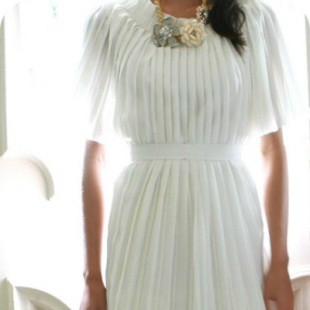 Викрійка сукні із завищеною талією