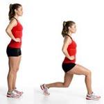 Випади: вправи для підтягнутих ніг