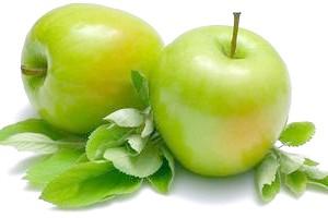 Зелені яблука при вагітності